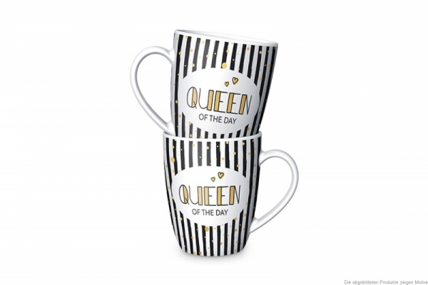 "Becher ""Queen of the day"""